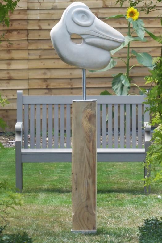 Pelican on plinth